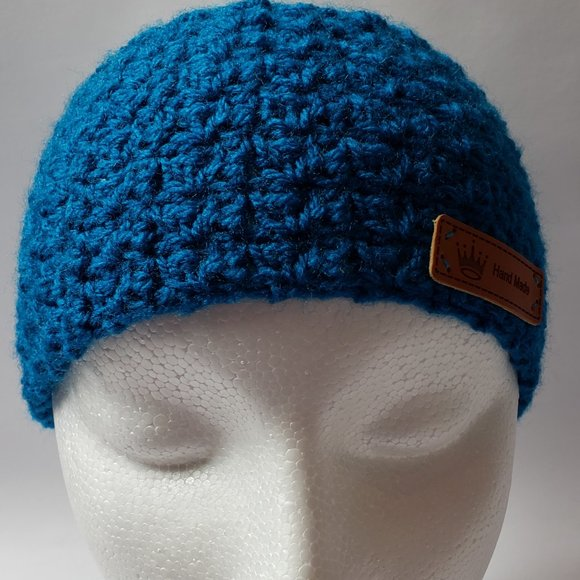 Peacock Blue Head Band Ear Warmer